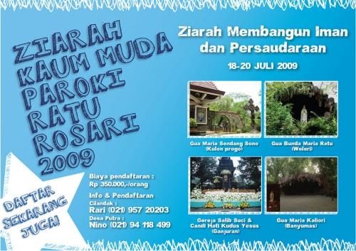 Ziarah Mudika 2009 Poster