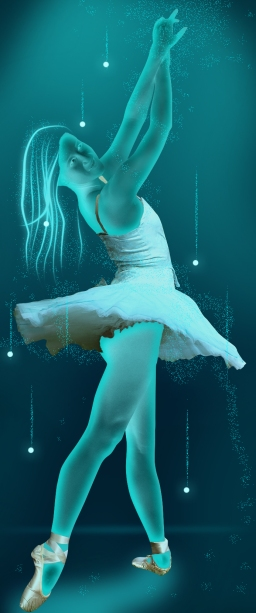 Glowing Ballerina