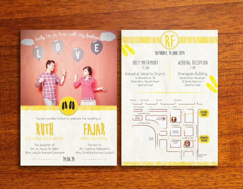 Ruth-Fajar Wedding Invitation 01