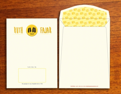 Ruth-Fajar Wedding Invitation 02 envelope